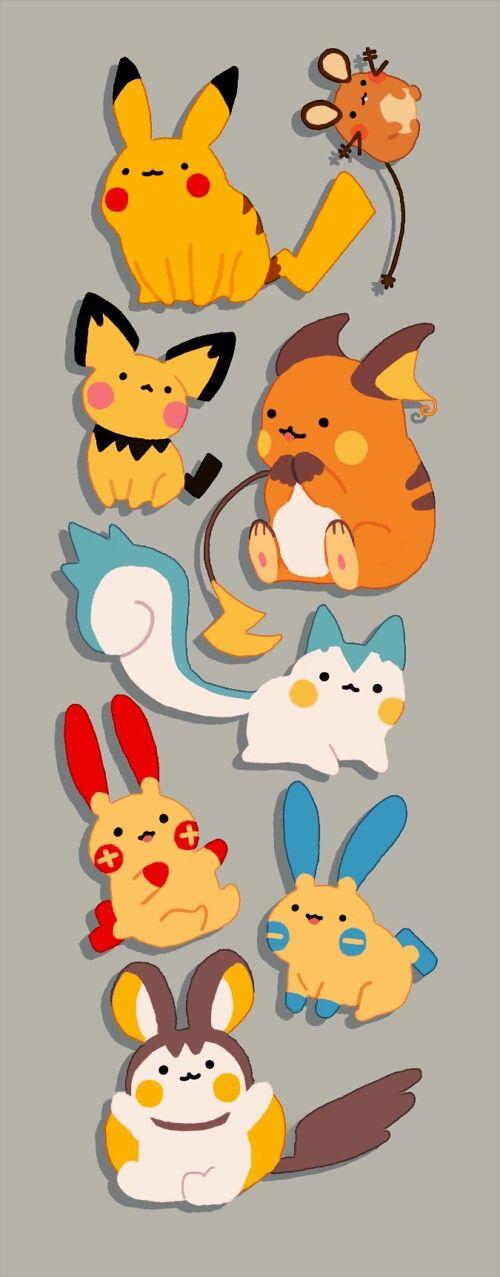 128 best images about Pikachu and Pachirisu on Pinterest