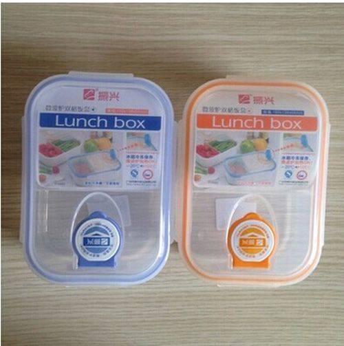 Hot Selling Modern Ecofriendly Outdoor Portable Microwave Plastic Lunch Box Storage Boxes Food Storage Food Bento Box #Affiliate
