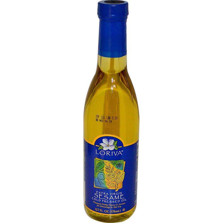 Loriva, Extra Virgin Sesame Cold Pressed Oil, 12.7 fl oz (376 ml) - iHerb.com