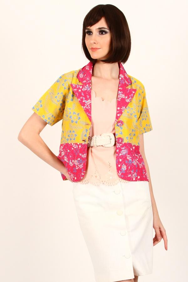 Tarini Batik Blazer www.pinkemma.com