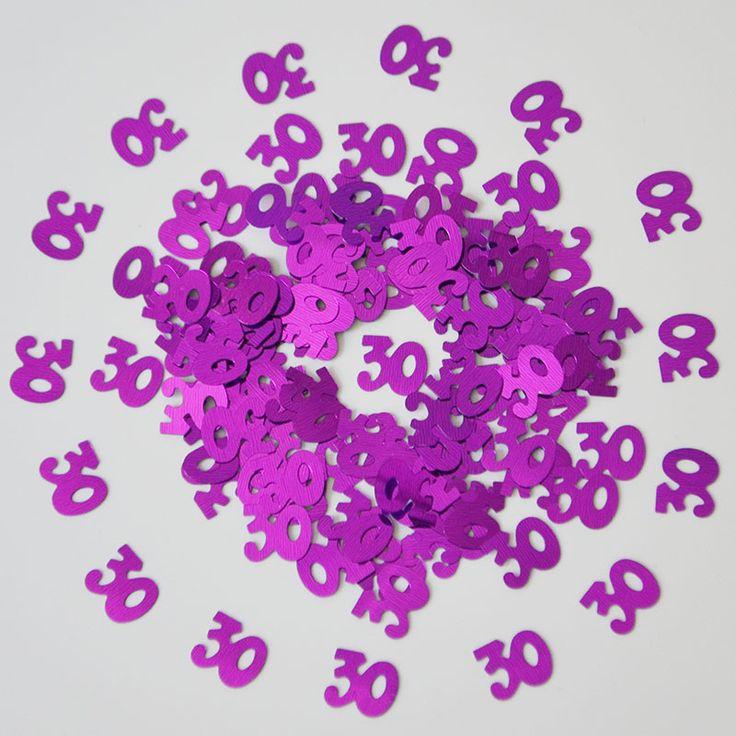 15g Dame Femmes Hommes Nombre Numérique 30 Ans Saupoudrer Métallique Confettis D'éparpillement de Tableau Adultes Heureux Décorations de Fête D'anniversaire dans   de   sur AliExpress.com | Alibaba Group