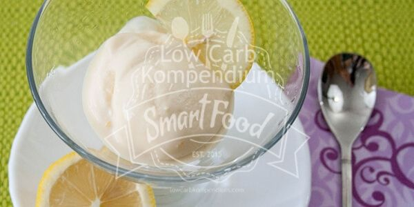 Low Carb Zitronen-Buttermilch-Eis – So genial erfrischend!