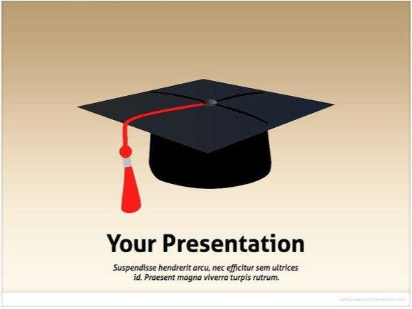 graduation powerpoint template | education powerpoint templates, Modern powerpoint