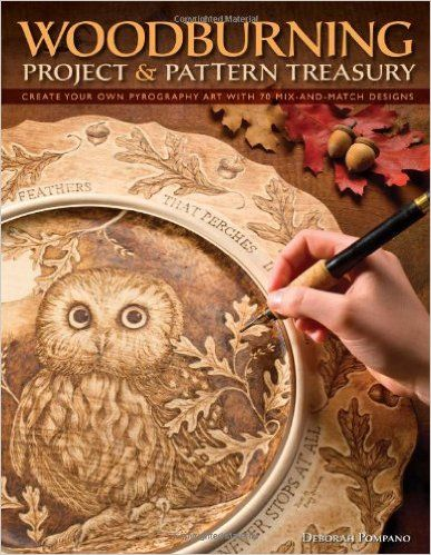 Woodburning Project Pattern Treasury Create Your Own Pyrography Art With 75 Mix And