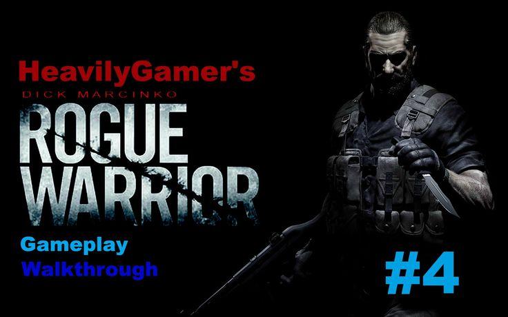 Rogue Warrior Gameplay Walkthrough Part 4:K.A.T.N,D.O.Y (Mickey Rourke V...