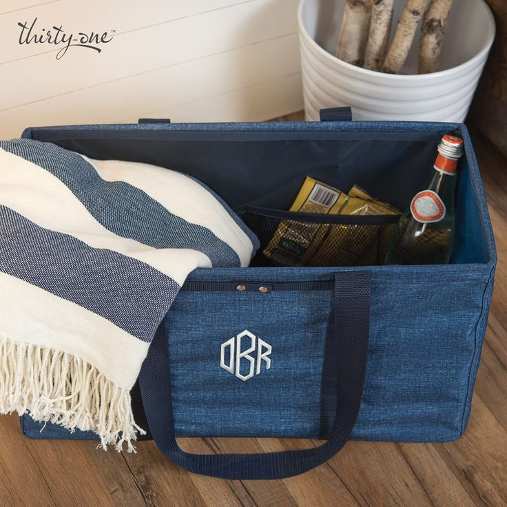 Grab your special someone, pack the Large Utility Tote with snacks and a blanket and head out for a picnic.