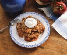 A heart-healthy recipe for Awesome Apple Crisp.