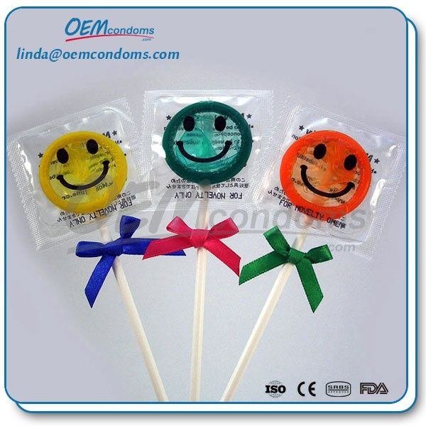 Lollipop Condom Naughty Exotic Condom,Lollipop condoms manufacturers and suppliers. OEM brand lollipop condoms factory. Email: linda@oemcondoms.com