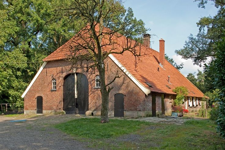 Landgoed Twickel, farmhouse. Overijssel, The Netherlands.