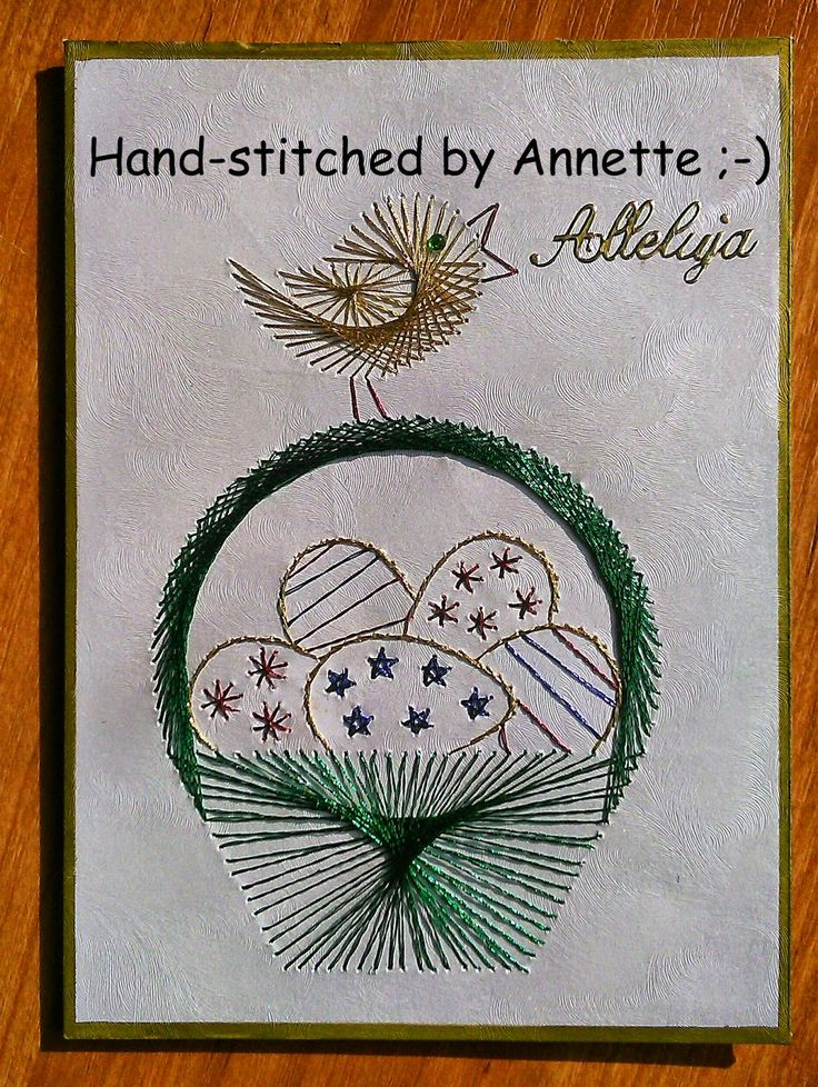 99 Best Cards Diy Embroidery String Art Images On Pinterest