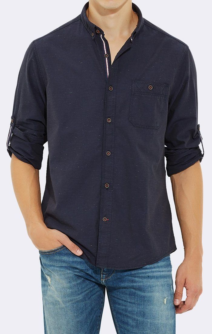 FOLDED SLEEVE SHIRT TOTAL ECLIPSE