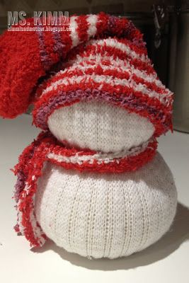 Handmade Sock Snowmen Tutorial  Really fun snowmen and easy tomake!!