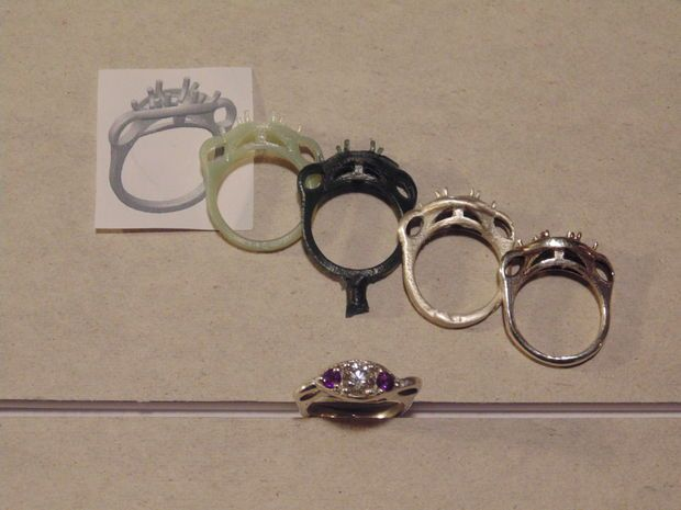 See how to make custom rings and metal parts: Casting Rings - From Startup to Finish