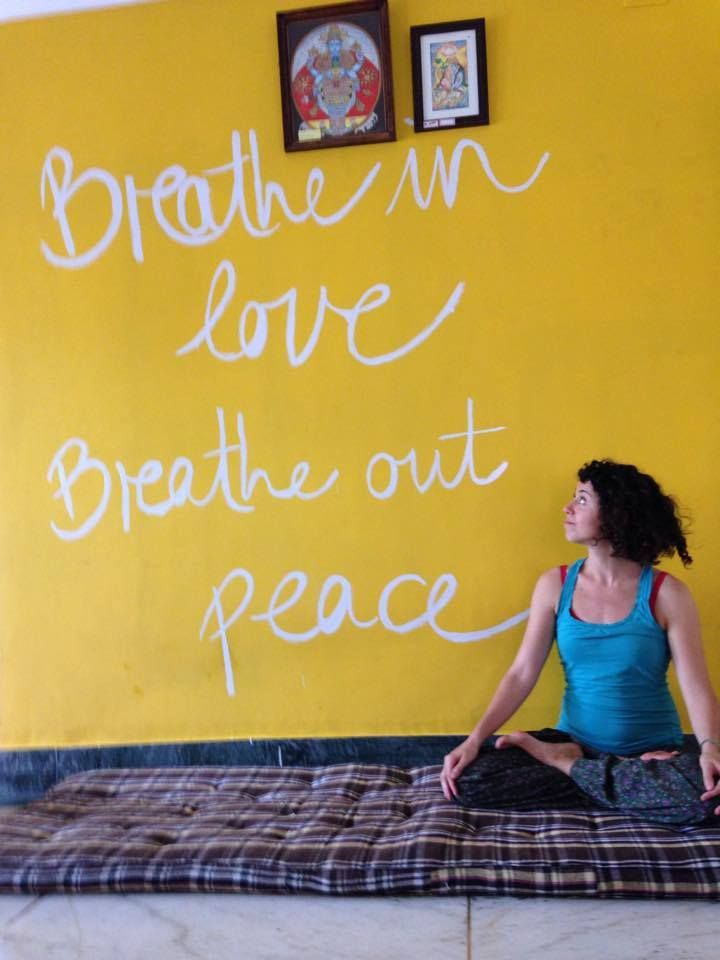 Breath out peace