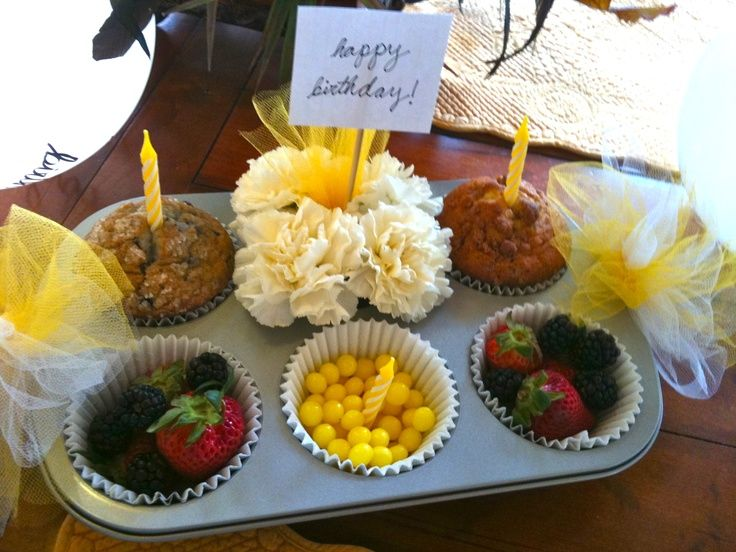 morning birthday surprise for girl | Part of a morning birthday surprise for @Jenny Armstrong ! Decorated ...