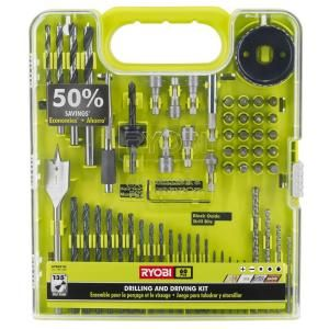 Ryobi Drill and Drive Kit (60-Piece) A98601G at The Home Depot - Mobile