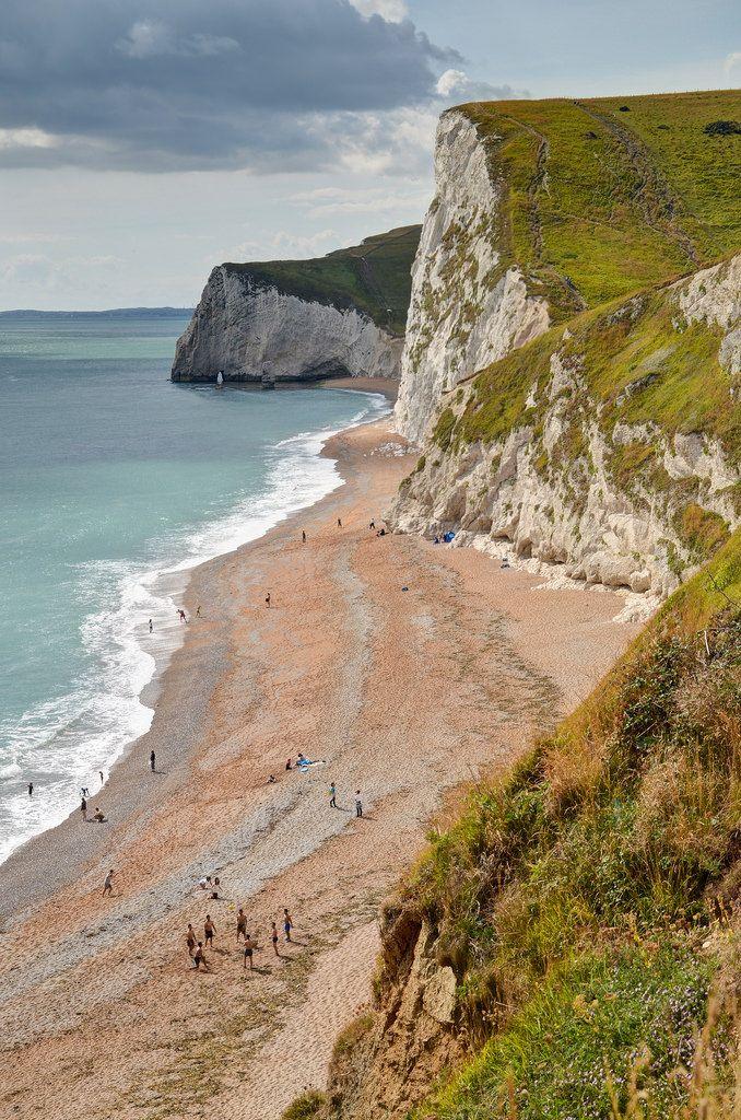 Dorset, England / Seaside, Beach, Rock formation