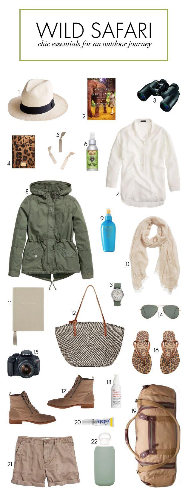 Packing Essentials for a Wild Safari | Bridal Musings Wedding Blog