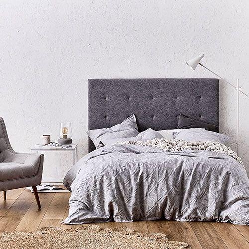 villa quilt cover soft grey adairs styling bek sheppard photography kristian gunn