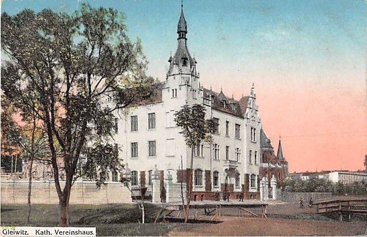 Alte AK Gleiwitz / Gliwice Kath. Vereinshaus