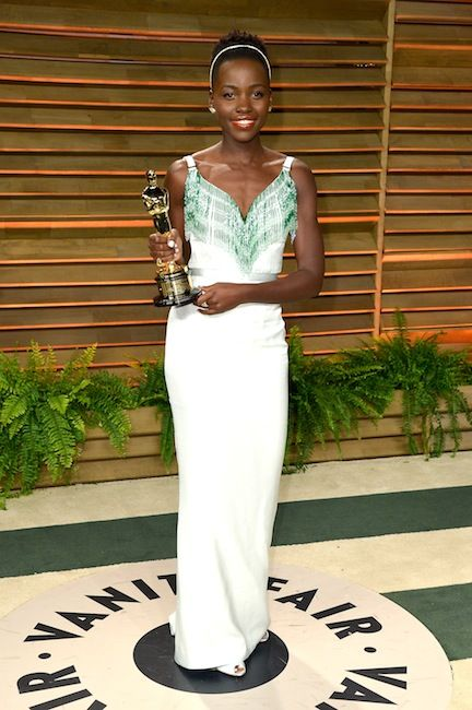 22 of the Best After-Party Looks From the 2014 Academy Awards: Lupita Nyong'o in Miu Miu