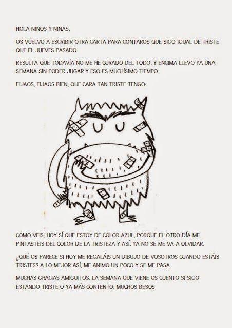 LOS RATONES DE ZARATÁN: monstruo de colores | Inteligencia emocional ...