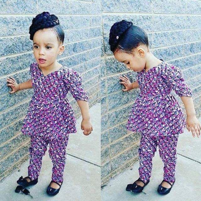 Check out this Beautiful Ankara Style for your Child - DeZango Fashion Zone