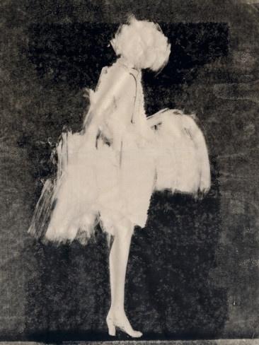 """inverse drawing. """"Silhouette 3"""" by Aurore De La Morinerie. Black White"""