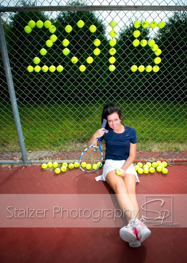 Senior Pictures Tennis Class of 2015 Courts