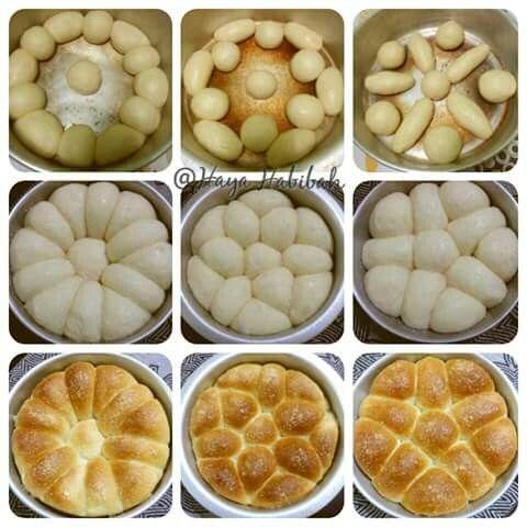 Bread art Credit pic : @Haya Habibah Thank you!