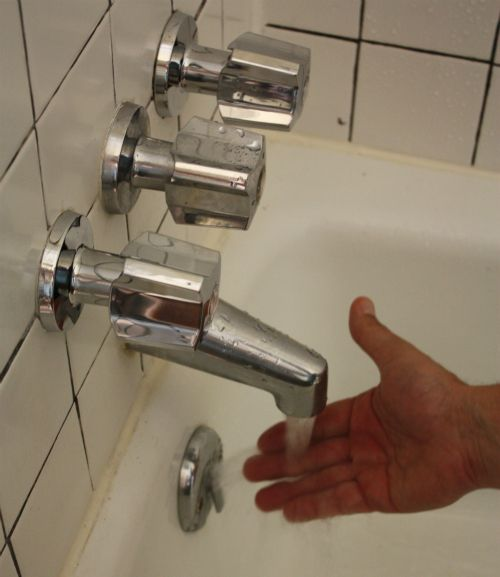 how to replace a tub faucet diy pinterest faucets tub faucet