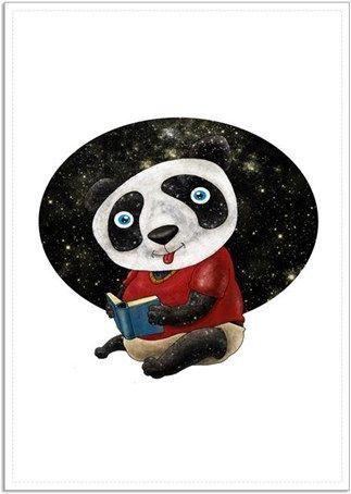 Bebek Panda Kendin Tasarla - Poster