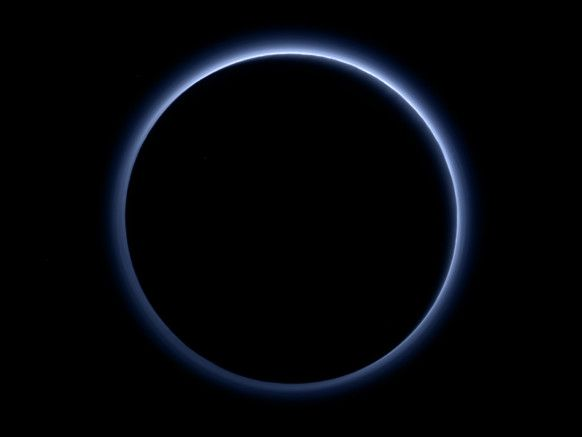 New Horizons Discovers Pluto Has Blue Skies and Frozen Water