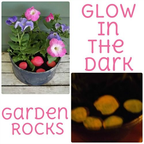 Add a little glow to your garden or potted plants at night!  Aren't these cool? Wonder if they'll help keep the deer away from my garden at night if I put some in there. Will have to try it.