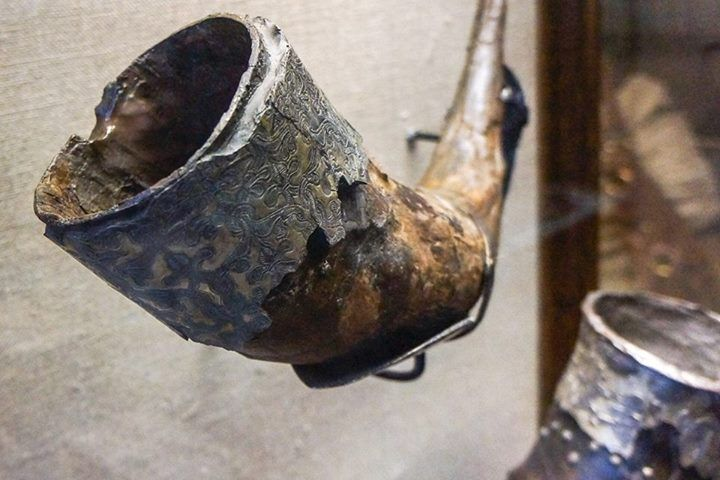 Viking Age drinking horn