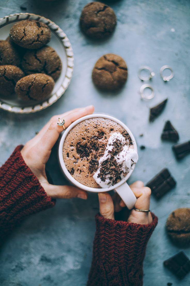Date Sweetened Vegan Hot Chocolate Will Frolic For Food Vegan Hot Chocolate Hot Chocolate Recipes Chocolate Recipes