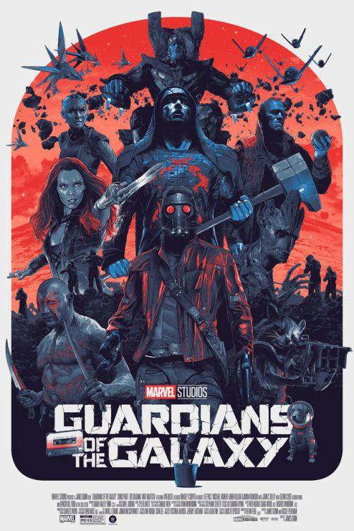 Guardians of the Galaxy Poster - Grzegorz Domaradzki