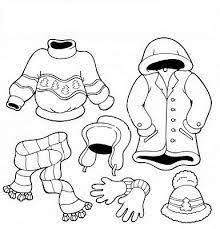Resultado de imagen de dibujos de la ropa de las estaciones revista maestra infantil