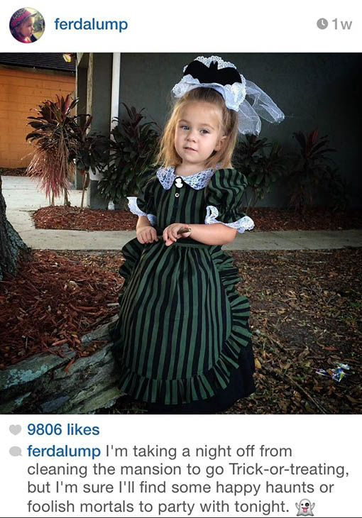 Best Haunted Mansion Costume Ideas On Pinterest Haunted - Mom creates the most adorable costumes for her daughter to wear at disney world