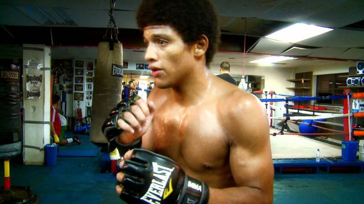 "Flashback Friday UFC Fighter Alex ""Bruce Leeroy"" Caceres Training Video"