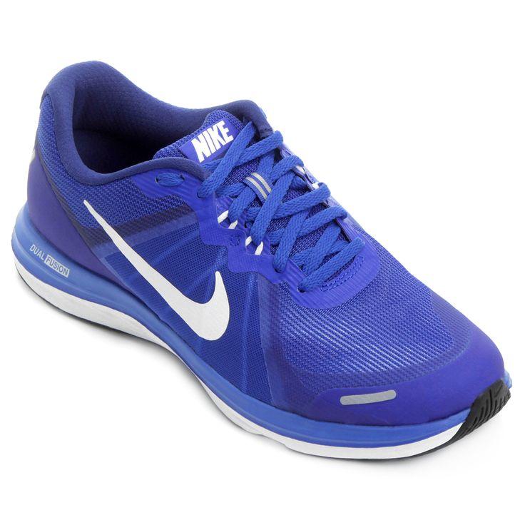 Tênis Nike Dual Fusion X 2 Preto e Branco | Netshoes