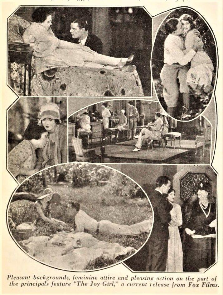 Motion Picture News –  September 23, 1927: Olive Borden, Neil Hamilton and Marie Dressler in The Joy Girl