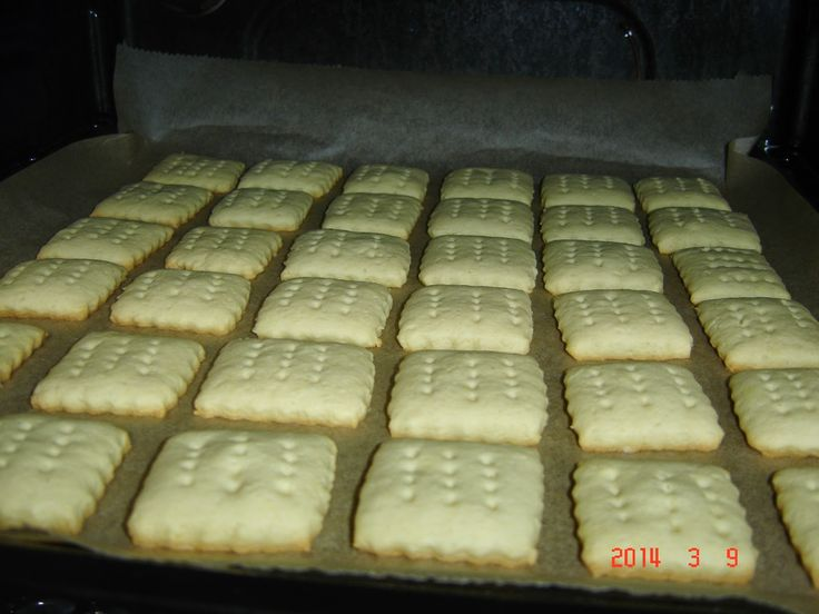 Betti gluténmentes konyhája: Háztartási keksz