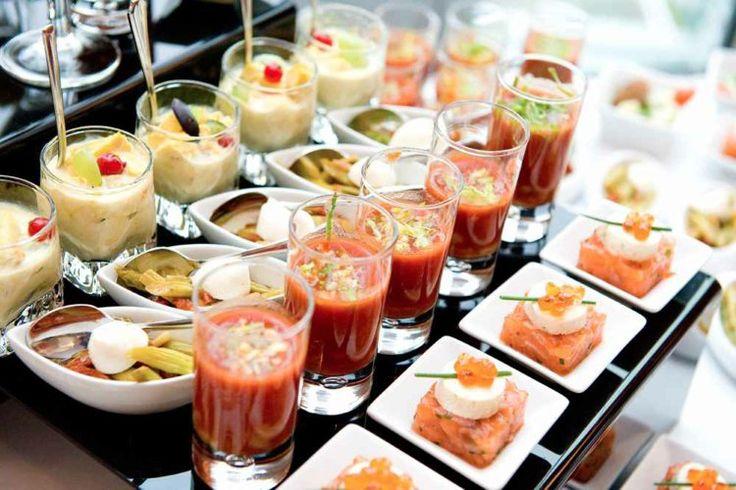 Partyrezepte Fingerfood kalt servieren Buffet