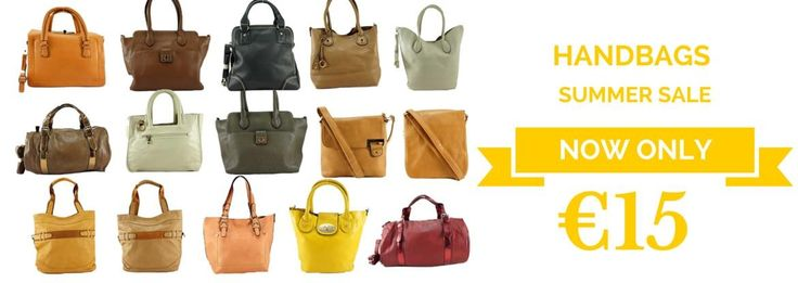 WOMEN'S HANDBAGS SPECIAL OFFER ONLY €15