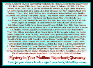 Laura's Review Bookshelf: Mystery in your Mailbox Paperback Giveaway!!!
