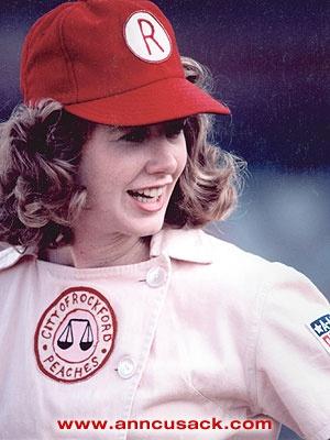 """Ann Cusack again as Shirley Baker in """"A League of Their ..."""