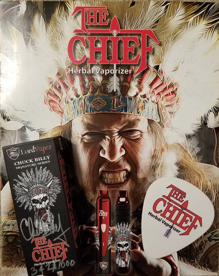 Premium vape pens at low prices for dry herb and concentrates, including Chuck Billy's Chief Herbal Vaporizer Pen. Grinders, blunt pipes, smell-proof bags, etc.