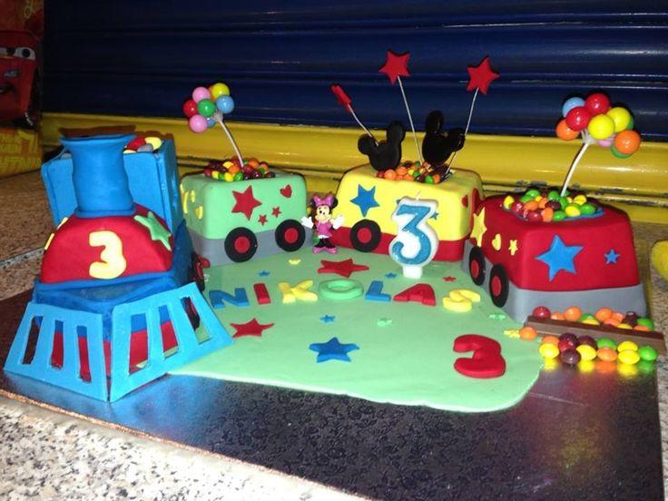 Mickey Mouse Choo Choo Train Tamara And Tanja S Cakes
