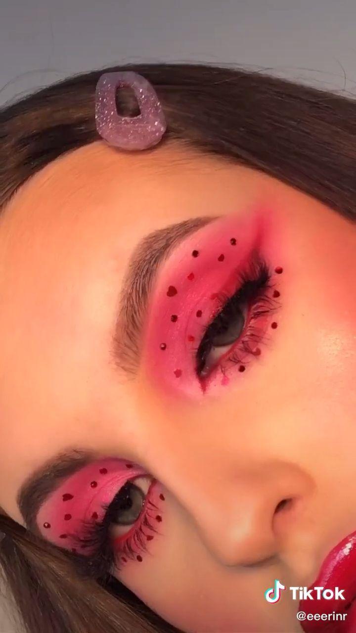 Erin Rose Eeerinr On Tiktok If Euphoria Had A Valentines Ep Fyp Makeup Euphoria Eye Makeup Makeup Inspiration Artistry Makeup
